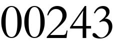 00243