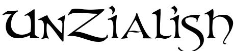 UnZialish