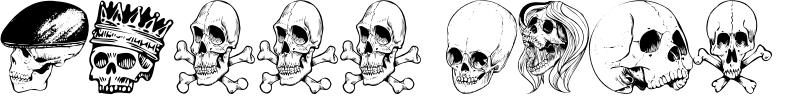 Skull Font