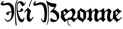 XiBeronne