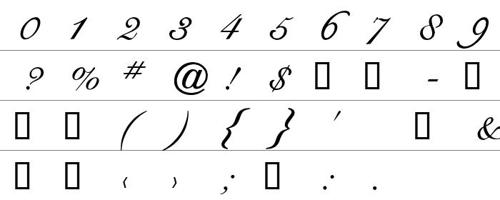 CygnetRound Rakam ve İşaretler