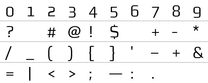 Morgansnoffice rakam ve işaretler