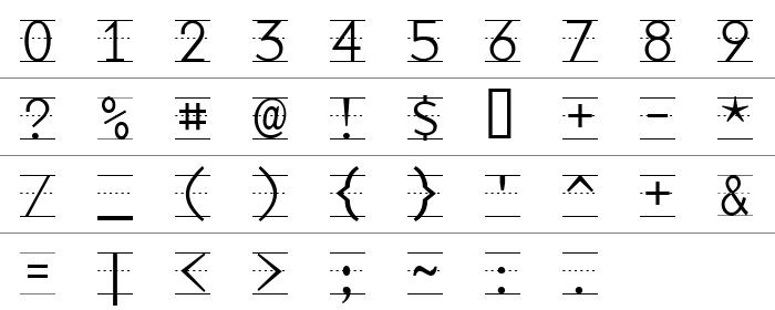 Penman- Okul Yazıları Rakam ve İşaretler