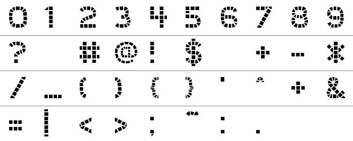 UnionSquare Rakam ve İşaretler