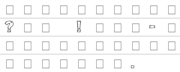 DriftType Rakam ve İşaretler