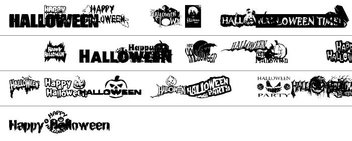 Halloween Logo Küçük Harfler